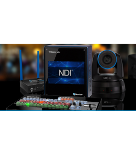 Newtek TRMSMINISDICSPTZ - TriCaster Mini SDI Advanced Bundle + 2x PTZ1 Cameras