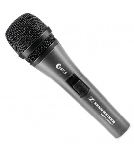Sennheiser E835-S-PTT - Handheld Dynamic Microphone with Push To Talk Switch