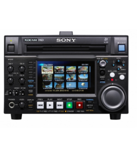 Sony PDW-HD1200/2 - XDCAM HD422 Professional Disc Deck - single head, Interlace Rec only