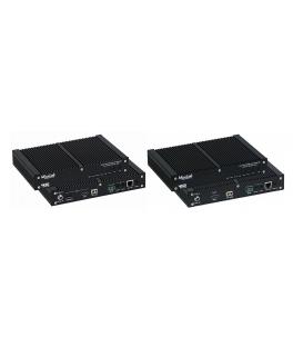 MuxLab 500761-RX-EU - AV over IP 4K/60 Uncompressed Receiver, Fiber, EU