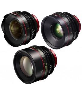 Canon EF Primes Bundle 14/24/135 (F)