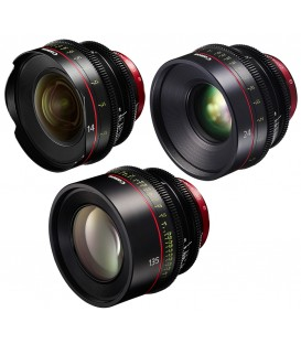 Canon EF Primes Bundle 14/24/135 (M)