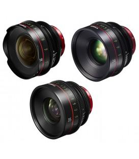 Canon EF Primes Bundle 14/24/35 (M)
