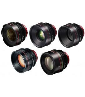 Canon EF Primes Bundle 14/24/50/85/135 (F)
