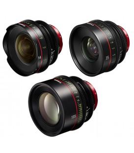 Canon EF Primes Bundle 14/35/135 (M)