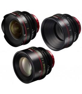 Canon EF Primes Bundle 14/50/135 (F)