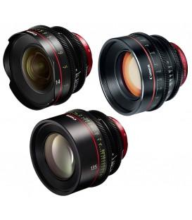 Canon EF Primes Bundle 14/85/135 (F)