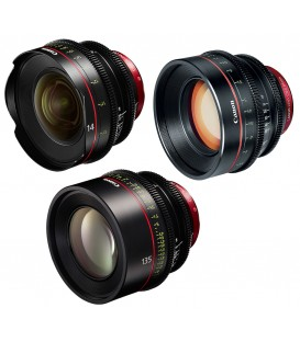 Canon EF Primes Bundle 14/85/135 (M)