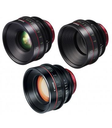 Canon EF Primes Bundle 24/50/85 (M)