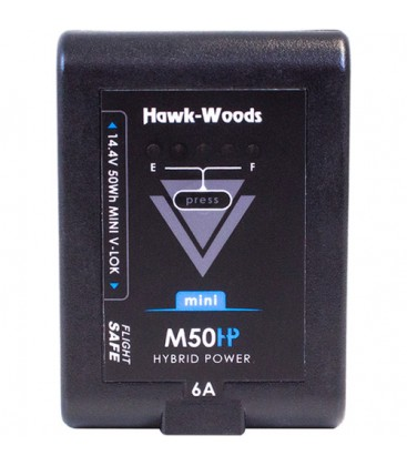 Hawkwoods VL-M50 - 14.4V 50Wh mini V-Lok Lithium-Ion Battery