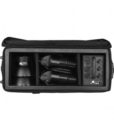 Tenba TE634142 - AW-MLC Medium Lighting Case with Wheels