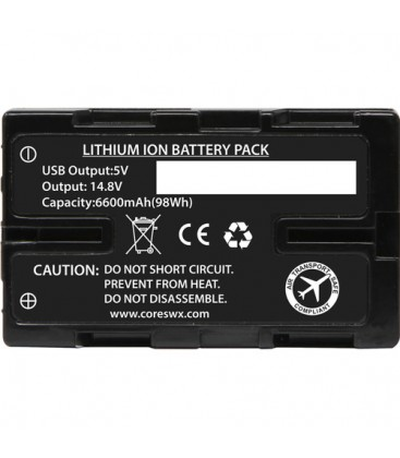 Core SWX CO-NANO-U98 - 6600mah HDV Battery