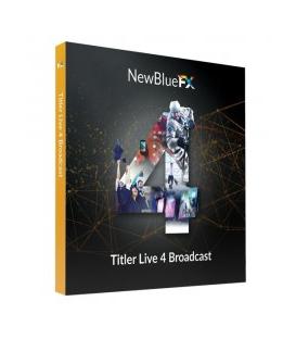NewBlueFX NB-SKUTL4BR - Titler Live 4 Broadcast