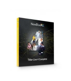 NewBlueFX NB-SKUTL4CO - Titler Live 4 Complete