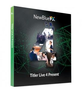 NewBlueFX NB-SKUTL4PR - Titler Live 4 Present