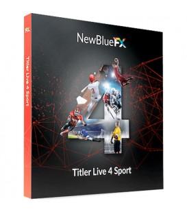 NewBlueFX NB-SKUTL4SP - Titler Live 4 Sport