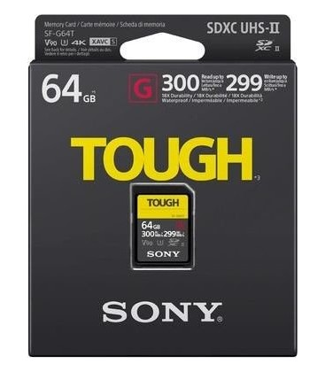 Sony SF64TG - Tough Series SDHC 64GB