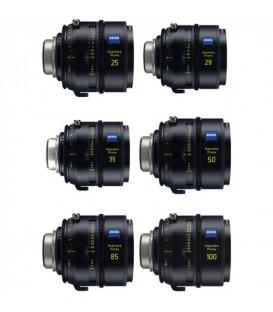 Zeiss 2271-990 - Supreme Prime PL Meter 6 Lens Set