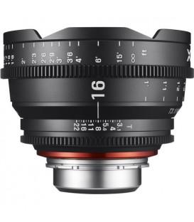 Samyang F1513601101 - 16mm T2.6 FF Cine Canon EF