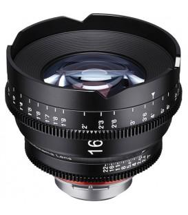Samyang F1513609101 - 16mm T2.6 FF Cine MFT