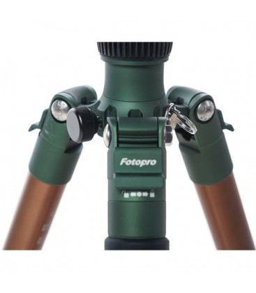 FotoPro X-go Predator - Tripod Kit with FPH-62Q Ball Head (Green)