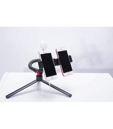 FotoPro uFO Mogo Basic (Mogox1+SJ-86x2+BT-4x1) - Mini Flexible Tripod Kit with ball head and cell phone adapter