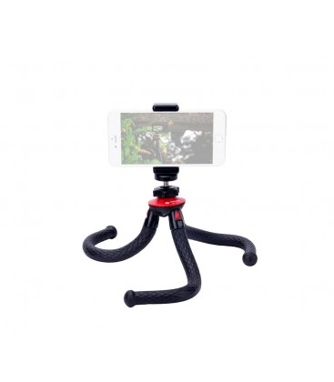 FotoPro Ufo2+SJ-85+GA-1 - Mini Flexible Tripod Kit with ball head and cell phone adapter