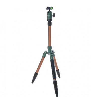 FotoPro X-go Gecko - Tripod Kit with FPH-42Q Ball Head (Green)