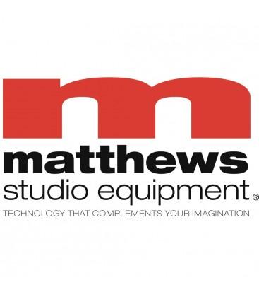 Matthews 319684 - 12ft x 20ft Single Scrim - Black