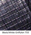 Matthews 719090 - 12ft x 12ft Griff - Black / White T55