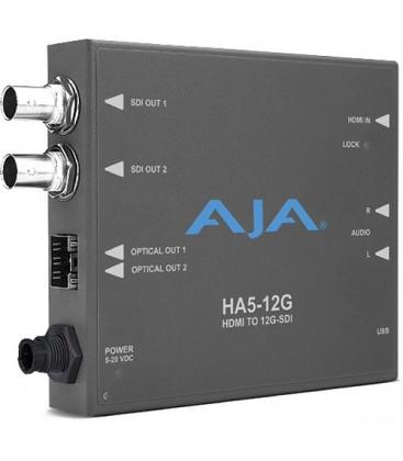 AJA HA5-12G-R0 - HDMI 2.0 to 12G-SDI Conversion
