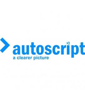 Autoscript A9010-2001 - RGCF: Carbon Fibre Hood Glass