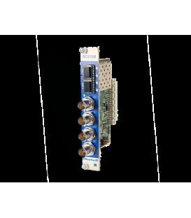Bluebell BC370R - Quad Channel 3G/SDI Fibre Optic Receiver Card