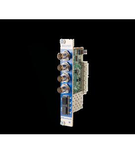 Bluebell BC370T - Quad Channel 3G/SDI Fibre Optic Transmitter Card