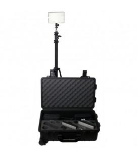 Ledgo LG-B160C-RKBC - 3 Light Bi-Colour Reporter Lighting Kit
