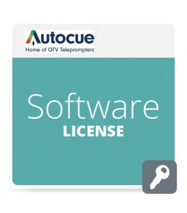 Autocue SW-LICENSE/QMASTER - Software license package for QMaster