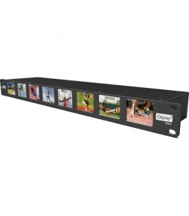 "Variosystems VS-OS-97-50002 - Multiviewer 3G SDI with 8x 2"" LCD 19"" 1RU"