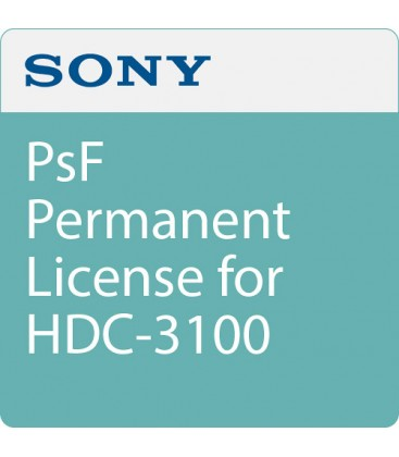 Sony HZC-PSF50 - Permanent License - 1080/25p & 24p for HDC3500/3100/3170, HDC-P50