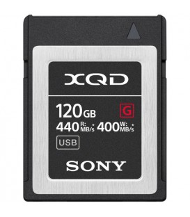 Sony QDG120F - 120 GB XQD G Series memory card for professional shooting