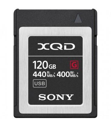 Sony QDG120F - 120 GB XQD G Series memory card for professional shooting