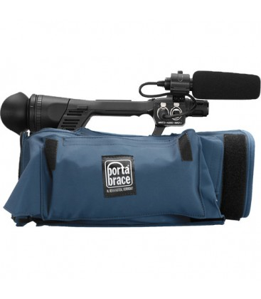 Portabrace CBA-UX180 - Padded camera cover with rain cover, Blue