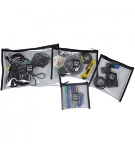 Portabrace POUCH-CLEARSETALL - Clear Equipment Pouch, Set of All Sizes