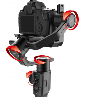 Moza Air 2  - 4-Axis and 8 Follow Motorized Gimbal Stabilizer Kit