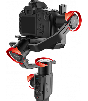 Moza MCG01 - Air 2, 4-Axis and 8 Follow Motorized Gimbal Stabilizer Kit