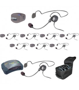Eartec UPCYB9 - 1 HUB, 8 UltraPAK & 9 Cyber Headsets