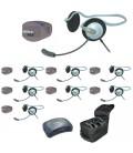 Eartec UPMON8 - 1 HUB, 8 UltraPAK & 8 Monarch Headsets