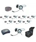 Eartec UPMON9 - 1 HUB, 8 UltraPAK & 9 Monarch Headsets