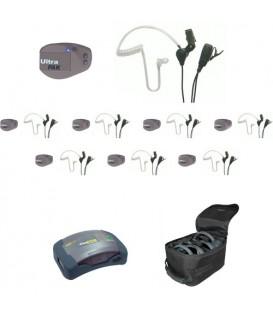 Eartec UPSST8 - 1 HUB, 8 UltraPAK & 8 SST Headsets