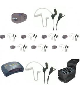 Eartec UPSST9 - 1 HUB, 8 UltraPAK & 9 SST Headsets