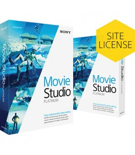 Sony KSPMS130SL1 - Sony Movie Studio Platinum 13 Volume License 5-49 Users
